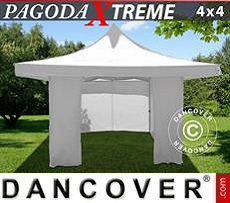Party Marquee Xtreme 4x4 m / (5x5 m) White, incl. 4 sidewalls