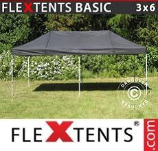 Pop up canopy Basic v.2, 3x6 m Black