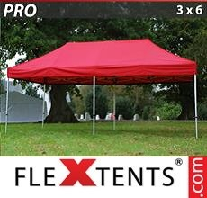 Pop up canopy PRO 3x6 m Red