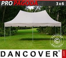 Pop Up Marquee PRO Peak Pagoda 3x6 m Latte
