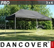 Pop Up Marquee PRO 3x6 m Black