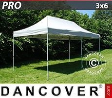 Pop Up Marquee PRO 3x6 m Silver