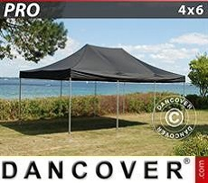 Pop Up Marquee PRO 4x6 m Black