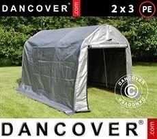 Portable Garage PRO 2x3x2 m PE, Grey
