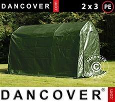 Portable Garage PRO 2x3x2 m PE, Green