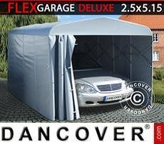 Portable Garage (Car), ECO, 2.5x5.15x2.15 m, Grey