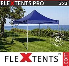 Racing tent PRO 3x3 m Dark blue