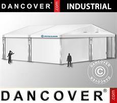 Industrial Storage Hall 10x10x4,52 m w/sliding gate, PVC, White
