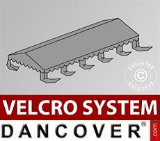 Roof cover for Marquee UNICO, PVC/Polyester, 5x10m, Dark Grey
