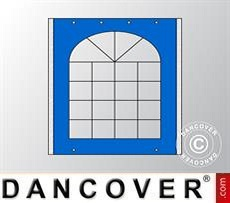 Sidewall w/window for Marquee UNICO, PVC/Polyester, 3m, Blue