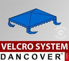 Roof cover for Marquee UNICO, PVC/Polyester, 3x3m, Blue