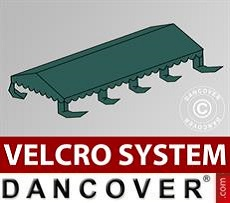 Roof cover for Marquee UNICO, PVC/Polyester, 5x8m, Dark Green