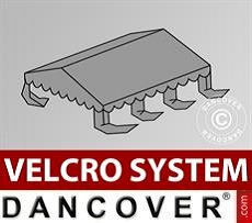 Roof cover for Marquee UNICO, PVC/Polyester, 4x6m, Dark Grey