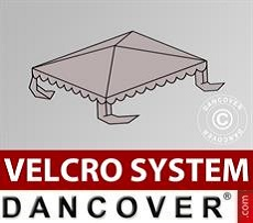 Roof cover for Marquee UNICO, PVC/Polyester, 3x3m, Sand