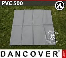 Repair PVC for Fire Retardant storage tent, 500g/m², 1x1m, Grey