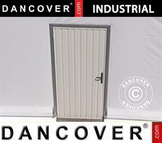 Metal door for Industrial Storage Hall, 0,9x2 m, White