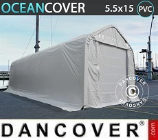 Tents Oceancover 5.5x15x4.1x5.3 m, PVC