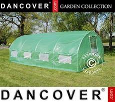 Greenhouse 3x6x2 m, 18 m², Green