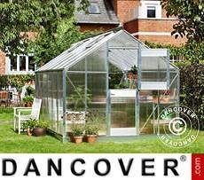 Greenhouse 12.1 m², 2.77x4.41x2.57 m, Aluminium