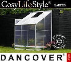 Greenhouse 2.4 m², 1.25x1.92x2.21 m, Aluminium