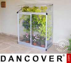 Greenhouse 0.78 m², 0.63x1.25x1.60 m, Silver