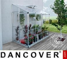Greenhouse 3.05 m², 1.25x2.44x2.25 m, Silver