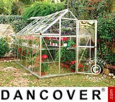 Greenhouse 5.6 m², 1.85x3.06x2.08 m, Silver