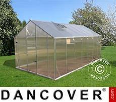 Greenhouse L-15, 14.08 m², 2.2x6.4x2.15 m, Silver