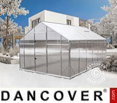 Greenhouse XL-12, 12.47 m², 2.9x4.3x2.25 m, Silver