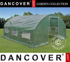 Greenhouse 4x4x2 m, 16 m², Green