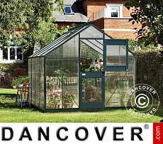 Greenhouse 8.3 m², 2.77x2.98x2.57 m, Anthracite