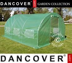 Polytunnel Greenhouse 3x4.5x2 m, 13.5 m², Green