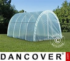 Polytunnel Greenhouse 2.2x4x1.9 m, 8.8 m², Transparent