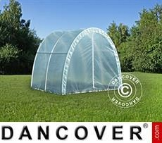 Polytunnel Greenhouse 2,2x2x1.9 m, 4.4 m², Transparent