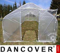Polytunnel Greenhouse 3x3.75x2.15 m
