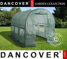 Polytunnel Greenhouse 2x3x2 m, 6 m², Green