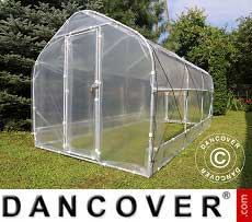 Polytunnel Greenhouse Plus 3x6.25x2.15 m