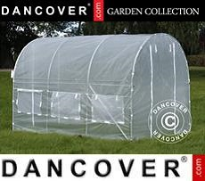 Polytunnel Greenhouse 2x3x2 m, 6 m², Transparent