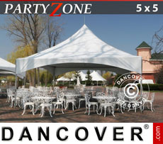 Pagoda Marquees PartyZone 5x5 m PVC