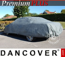 Car Cover Premium Plus, 4.7x1.66x1.27 m, Grey