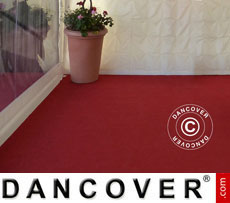 Tent Carpet 2.5x16 m chili red