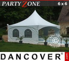 Pagoda Marquee PartyZone 6x6 m PVC