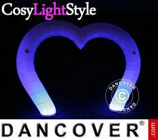 Inflatable light, LED, Heart
