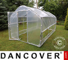 Polytunnel Greenhouse SEMI PRO Plus 4x15x2.40 m
