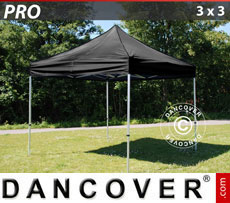 Pop up gazebo FleXtents PRO 3x3 m Black