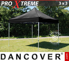 Pop up gazebo FleXtents Xtreme 3x3 m Black