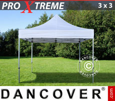 Pop up gazebo FleXtents Xtreme 3x3 m White
