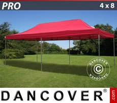 Pop up gazebo FleXtents PRO 4x8 m Red