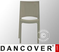 Chair, Sunshine, Glossy Pearl Grey, 18 pcs.
