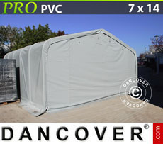 Storage shelter PRO 7x14x3.8 m PVC